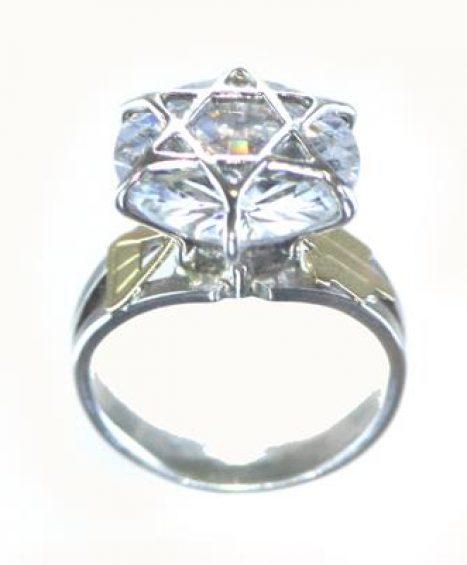 Anel de Ninfa Clássico ( Pedra Grande)